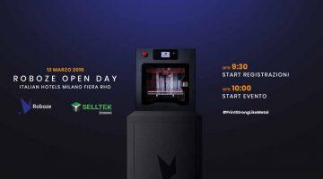 Open Day organizzato da Selltek e Roboze a Milano per la Stampa 3D industriale con superpolimeri