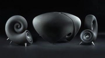 Deeptime Limited crea altoparlanti stampati in 3D realizzati con sabbia