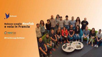 ROBOZE rafforza la sua presenza in Francia grazie alla partnership con  Neofab