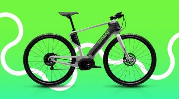 Emery ONE eBike  la super bici  in fibra di carbonio stampata in 3D