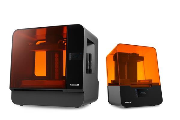 Le stampanti Form 3B e Form 3BL
