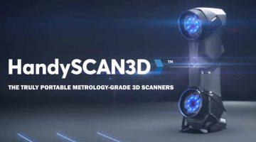 CREAFORM lancia gli  Scanner 3D portatili professionali SCAN SPARK E HANDYSCAN BLACK