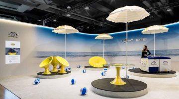 WASP – SAMMONTANA – JOVANOTTI insieme nel  Progetto ICE-DREAM sulle spiaggie italiane. Designer Fabio Novembre
