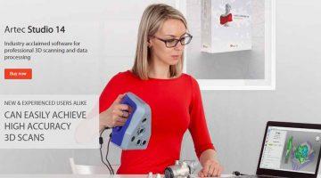 ARTEC 3D migliora l'automazione nel suo software di scansione 3D STUDIO 14