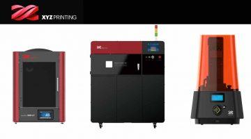 XYZprinting presenta nuove stampanti dirompenti per il mercato della produzione additiva industriale