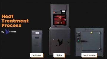 ROBOZE integra la Stampa 3D con  sistemi di pre e post stampa