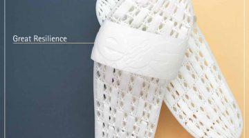 EOS introduce TPU 1301, un poliuretano termoplastico flessibile per la stampa 3D in serie che offre resilienza, resistenza all'idrolisi e un'elevata stabilità UV