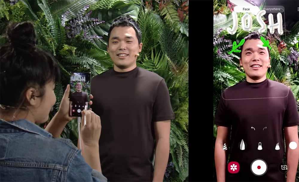 Scansione 3D con telefono cellulare Samsung Galaxy Note 10