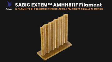 ROBOZE introduce nella stampa3D il materiale termicamente più performante al mondo – l' EXTEM ™ AMHH811F
