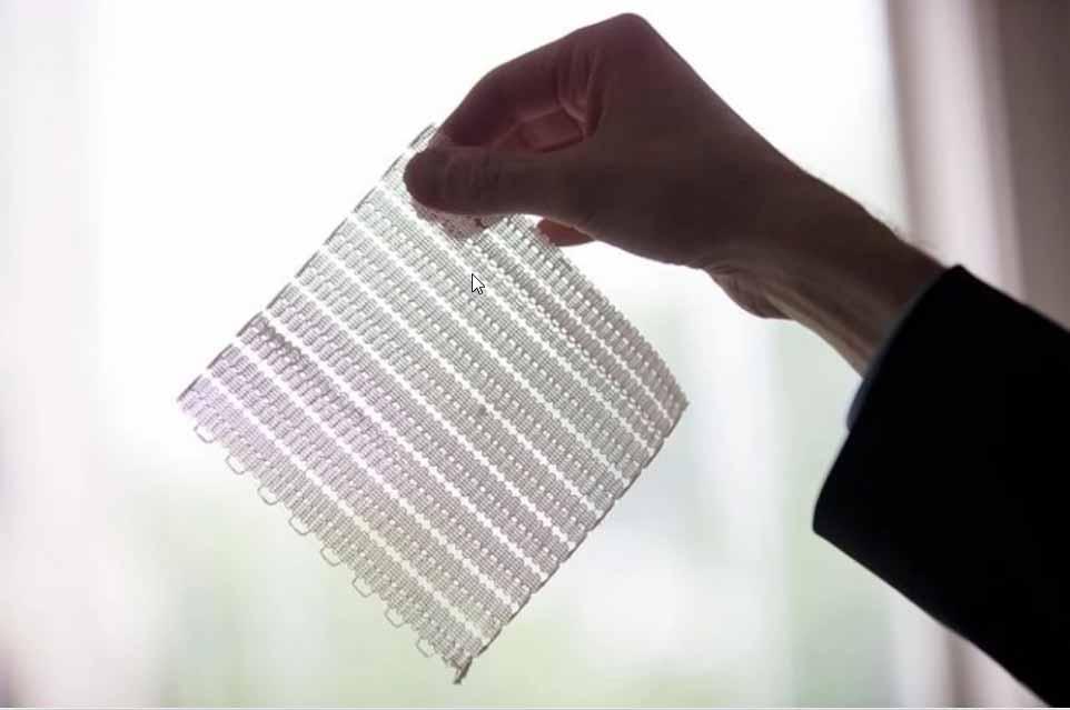 Il tessuto stampato in 3D del MIT è sottile, morbido e flessibile