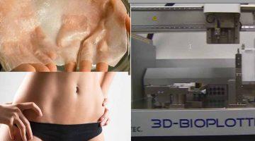 Pelle umana stampata in 3D . I progetti più promettenti nel 2019