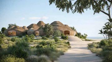 Il primo Resort sostenibile di lusso stampato in 3D con sabbia e acqua di mare