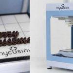 Mycusini  la Stampante 3D cioccolato permette forme incredibili per delizie da gourmet a soli 398 €