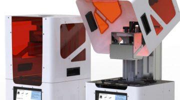 LumiCUBE La straordinaria stampante 3D a Resina con dispositivo di post-curing integrato
