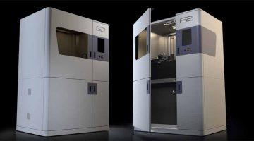 La nuova Stampante 3D DLP  G2 e l'unità di post-elaborazione F2 di Genera, stampa oggetti perfetti su grande formato