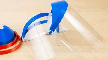 Visiere protettive dal COVID-19 stampate in 3D da  Zortrax