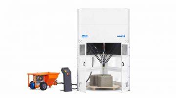DELTA WASP 3MT CONCRETE la nuova stampante di grandi dimensioni che definisce un nuovo standard nella manifattura additiva di malte cementizie