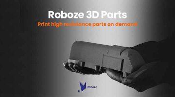 ROBOZE lancia un network di produzione distribuito di parti per applicazioni estreme