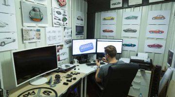 Ricostruzione automobili d'epoca con l'uso di stampanti 3D a resina