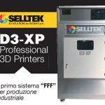 D3-XP Professional – La prima stampante FFF Professionale per produzione industriale