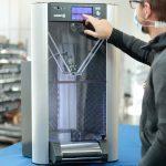 WAsp 2040 production La stampante 3d a piano infinito con processo automatizzato di rimozione del pezzo,  per la produzione h24