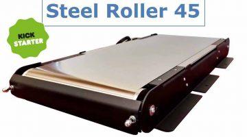 Steel Roller 45 upgrade kit. Il primo al mondo  per trasformare una stampante 3D tradizionale in un sistema di stampa infinito