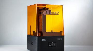 UNIZ lancia la stampante LCD IBEE 3D , economica  e con grande formato di costruzione