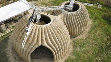 WASP e Mario Cucinella realizzano TECLA la prima costruzione stampata in 3D realizzata con più stampanti 3D simultanee