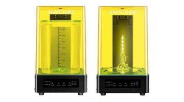 ANYCUBIC WASH & CURE – lavaggio e polimeralizzazione UV delle resine a 199 €
