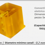 La stampa 3D per Micro-fabbricazione di qualità industriale con risoluzione ottica da 2 micron (0.002mm).