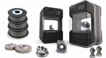 Stampa 3D FDM  in acciaio inossidabile : Makerbot e Ultrafuse  introducono un punto di svolta per un intero mercato