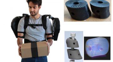 Società milanese realizza esoscheletri robot indossabili per usi civili di nuova generazione con la Stampa 3d