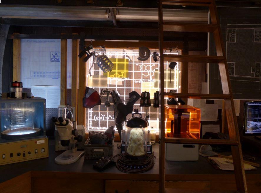 Il set creato da Russell Bobbitt include anche una stampante Formlabs