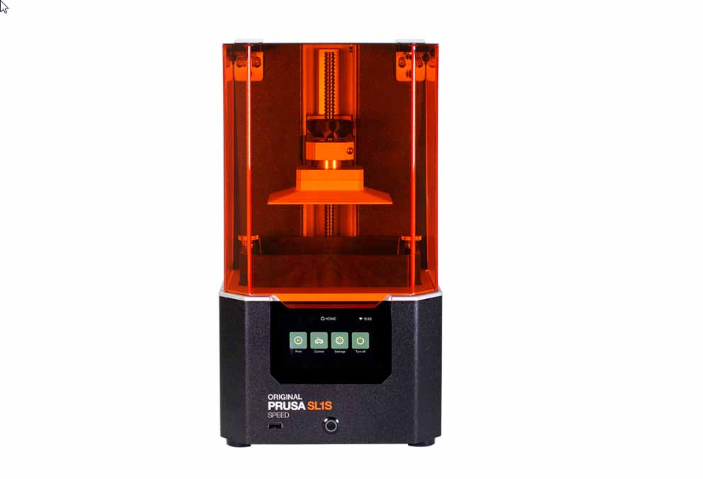 La stampante 3D Prusa SL1S Speed