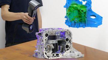 SHINING 3D lancia FREESCAN UE7 e UE11 Scanner 3D manuale ad altissima precisione con 22 linee laser