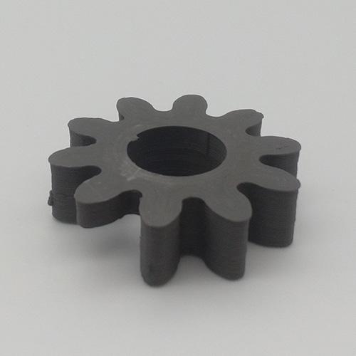 Parte in acciaio inossidabile stampata in 3D utilizzando Nanovia Mt Inox 316L