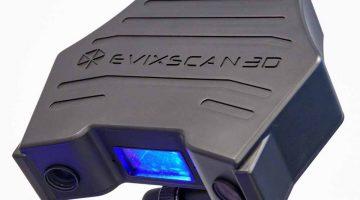 Scanner  eviXscan 3D Optima+ M 3D -Scanner 3D professionale, veloce, con precisione centesimale e grande area di scansione