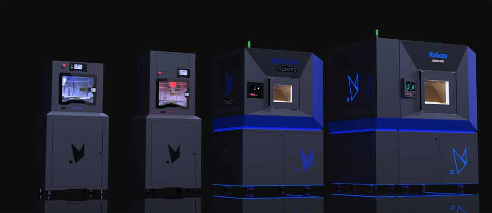 La linea di stampanti 3D Roboze