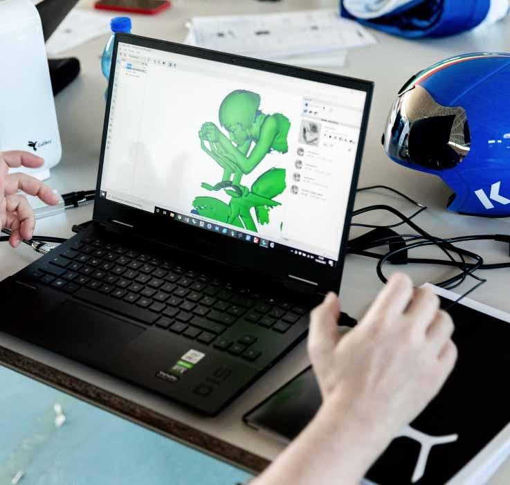 Scansione 3D di Calibry