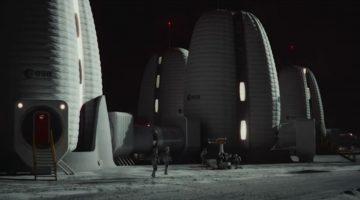 Pavimento Lunare stampato in 3D con tecnologia WAAM. Potrebbe essere utilizzata per costruire strutture spaziali sfruttando i materiali metallici in situ